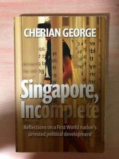 cherian george singapore incomplete