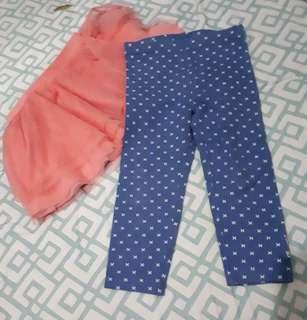 Adidas skirt and pants