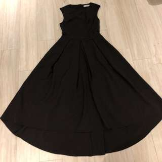 Love Bonito Black Long Dress
