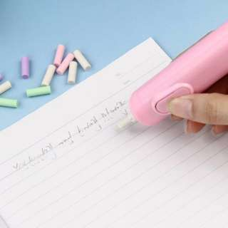 Daiso Electric Eraser with refills