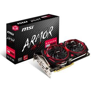 MSI Radeon RX 580 ARMOR MK2 8G OC