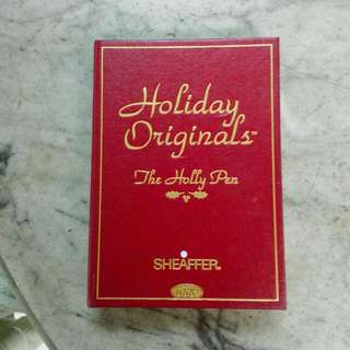 1996 Sheaffer Holiday Originals The Holly Pen Vintage
