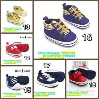 MAR 18 BRANDED BABY SHOES (LZ) #ID