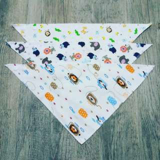 Triangular Bibs Set - Boys