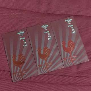 Hard Rock Hotel Red Packets