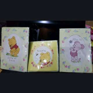 New disney baby winnie pooh & piglet Cross Stitch card design diy Kit