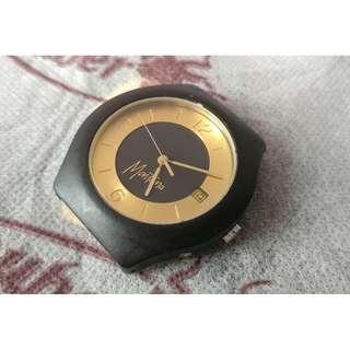 Montana Gold 18KT Automatic Watch body 自動錶錶身 (沒錶帶)