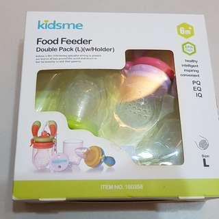 Kidsme food feeder (double pack L)