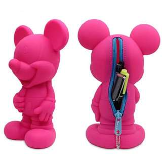 Mickey Mouse Silicon Pencil Case (In-Stock)