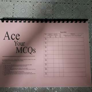 Ace Your MCQs