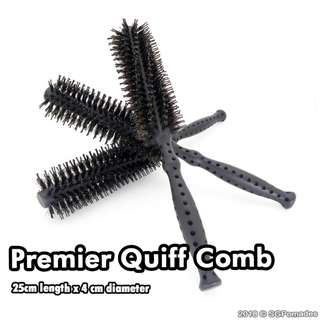 (Free mail) Premier Quiff Comb - Pair it with a pomade!