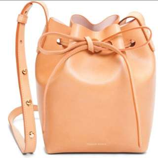 🚚 Mansur Gavriel Mini Mini Bucket Bag 迷你 水桶包 全新 正品