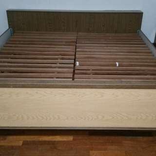King size Wooden frame