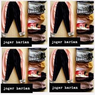 #Selusin Celana Jogger Harian