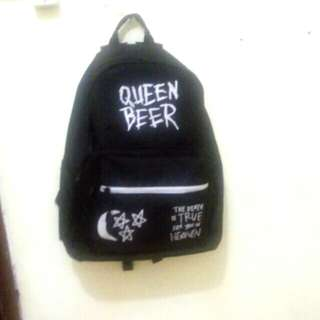 QUEENBEER BACKPACK TAS WITH SHOE SHELTER