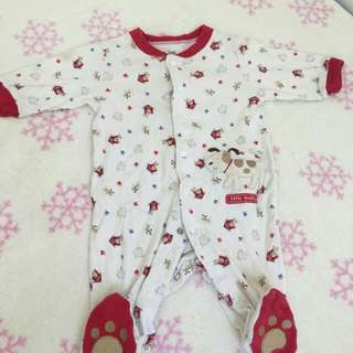 Frogsuit white&red