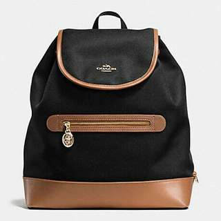 AUTHENTIC COACH SAWYER BACKPACK