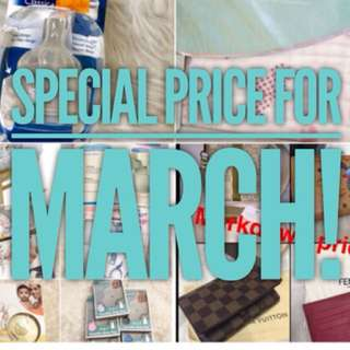 Special Price for March! LV-Fendi-MCM-Coach-Babies Stuff