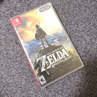 Brand New Sealed Nitendo Switch The Legend of Zelda