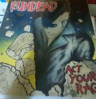 Vg+ The undead record vinyl punk rock metal