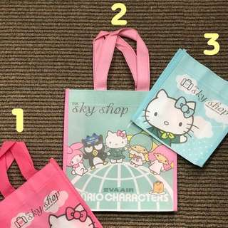 🚚 Hello Kitty 環保購物袋 (絕版)