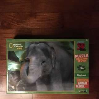 National Geographic Kids 3D Jigsaw Puzzle