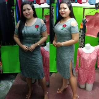 Plus Size Dress With Slit! 😄