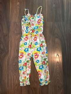 Zara kids preloved jumpsuit
