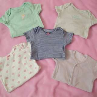 Bundle of Carter's Baby Rompers