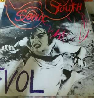 Vg+ sonic youth record evol early press Pls see descr