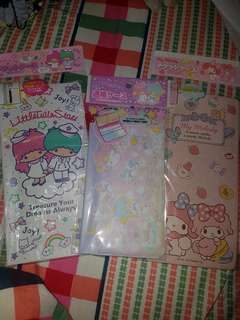 Sanrio Little Twin Stars Ticket Holder