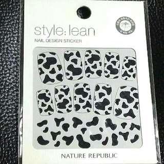 Animal Print Nail Foil and Nail Sticker