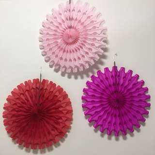 Paper Flower/ Fan for Decor
