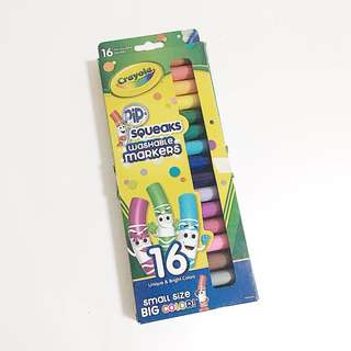 crayola pip squeaks pack of 16