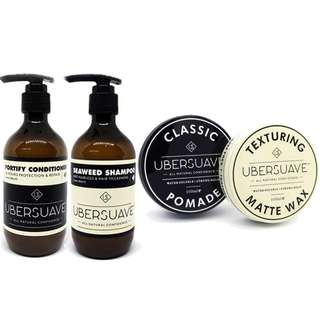 (Free mail) Ubersuave Hair Solution Pack