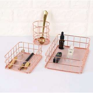 [PO] Rose Gold Organizer Tray