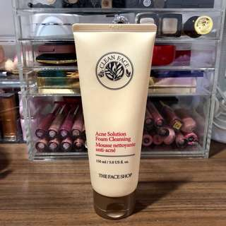 The Face Shop Foam Cleanser (Anti-acne) 150ML