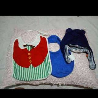 TAKE ALL BIB and CAP@70php