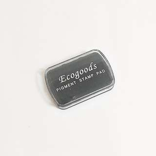 ecogoods black pigment stamp ink pad