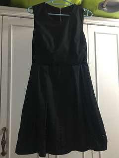 Little Black Dress (one piece dress) OL 黑色 連身裙 返工裙 見工