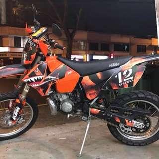 KTM EGS 200