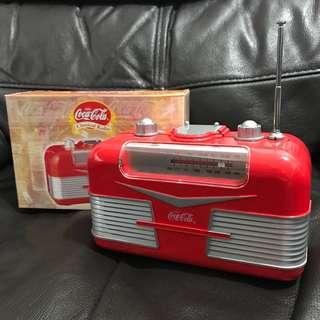 可口可樂絕版收音機