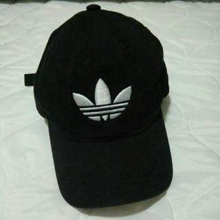 Authentic adidas black cap