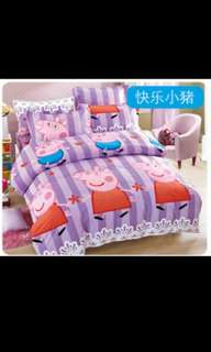 BN Peppa Pig Single size bed sheet