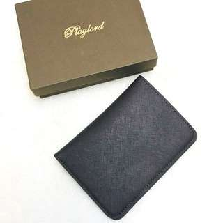 Playlord Leather Passport Holder