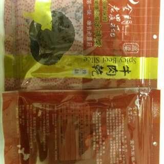 金門高粱酒牛肉乾辣味/不換物