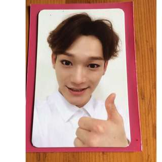 ON HAND Chen EXODUS CH 2nd Album OFFICIAL Photocard