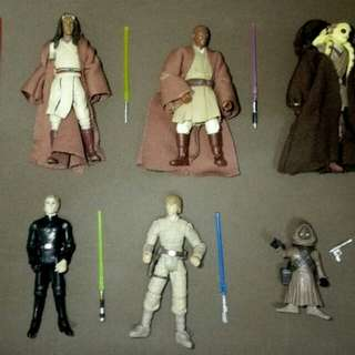 Star Wars loose figures