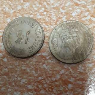 1968 $1 coin