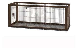 RICHELL EXPANDABLE PET CRATE WITH FLOOR TRAY #59352